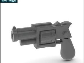 10 Miniature Revolvers in Frosted Ultra Detail