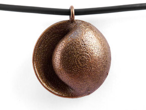 Eno Pendant in Polished Bronze Steel