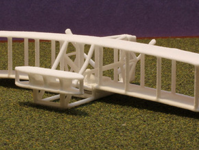 1/144 1903 Wright Flyer in White Strong & Flexible