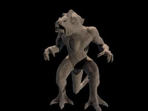 creature, 4 cm in White Strong & Flexible