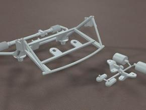 TDR 427 Roadster Front Hardware Kit in White Strong & Flexible