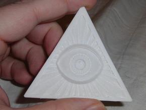 Illuminati -Flat Peice v2e in White Strong & Flexible