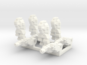 Ares MkIII Squad in White Strong & Flexible Polished