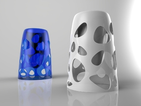 SUSPENDED GLASS in White Strong & Flexible