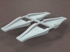 1/16 scale 3 inch NACA ducts in Frosted Ultra Detail