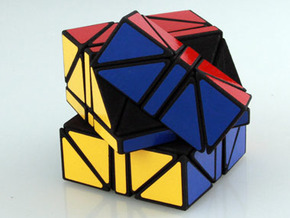 Helicopter + 3x3x3 Cube in White Strong & Flexible