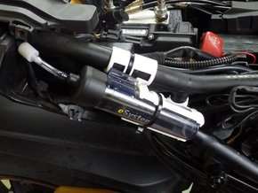 Adapter Multistrada Scottoilerbehälter in Black Strong & Flexible