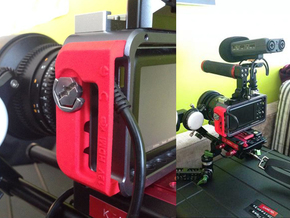 BMPCC Contineo Cage cable clamp in Red Strong & Flexible Polished