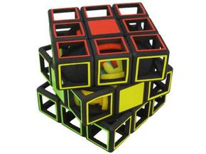 Slice Gear Cube in White Strong & Flexible