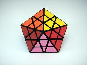 Pentamid Puzzle in White Strong & Flexible