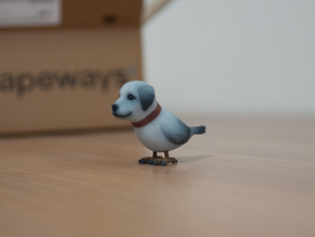 dog_bird 1 in Full Color Sandstone