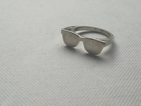 Endless Summer Ring in Polished Silver