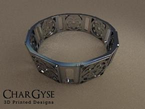 Bangle - Sixteen Petals in Frosted Ultra Detail