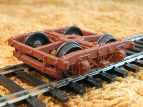 HOT30s x8 USMRR Civil War wood beam truck in Frosted Ultra Detail