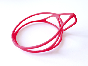 Cup Converter - size M in Red Strong & Flexible Polished