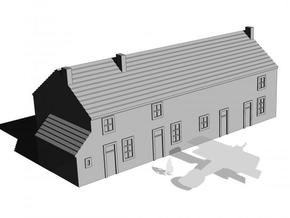 1/350 Village House 2 in White Strong & Flexible