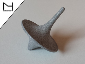 Spinning Top / Tol Inception in Polished Metallic Plastic