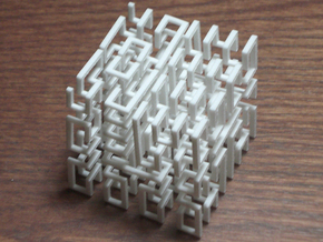 Hilbert Cube in White Strong & Flexible