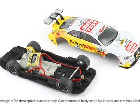 S01-ST1 Audi A5 DTM Chassis STD/LMP in White Strong & Flexible Polished