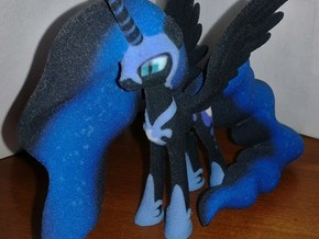 My Little Pony - Nightmare Moon (≈70mm tall) in Full Color Sandstone