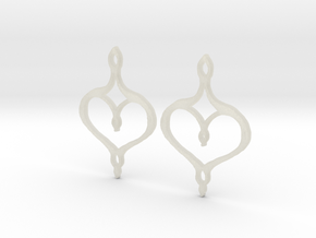 :Perfect Valentine: Earrings in Transparent Acrylic