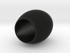 100mm Woven Cup 2 TEST in Black Strong & Flexible