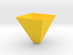 123DDesignDesktopSel in Yellow Strong & Flexible Polished