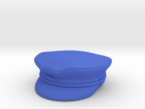 Waaf peaked hat  in Blue Strong & Flexible Polished