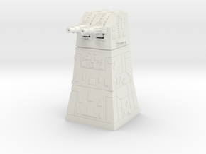Turbolaser Turret  Revised 1 270 in White Strong & Flexible