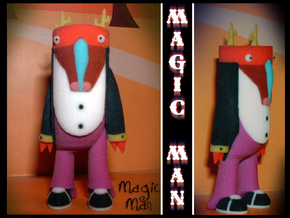 Magic Man in Full Color Sandstone