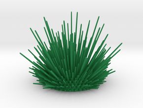 Desk Urchin - A cool way to organize your desk! in Green Strong & Flexible Polished