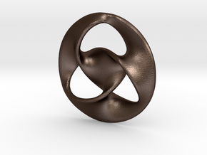 All is one  ( pendant ) in Matte Bronze Steel