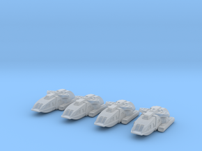 1/1000 Scale Special Operations Scampers in Frosted Ultra Detail