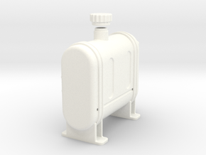 """Lama """"Suitcase Tank"""" in White Strong & Flexible Polished"""