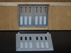 HO-Scale PC&F Replacement Doors in Frosted Ultra Detail
