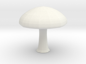 Shroom in White Strong & Flexible
