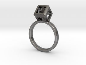 Ring size 6.5 (17mm) with HyperCube