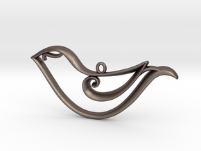 The Bird Pendant in Stainless Steel