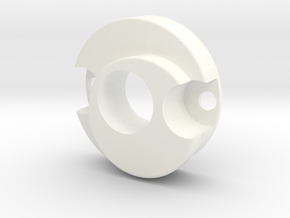 E11 Nozzle in White Strong & Flexible Polished