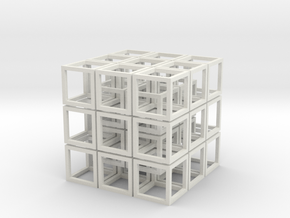Cubed metric2 in White Strong & Flexible