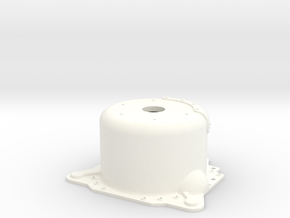 "1/8 Lenco 9.4"" Dp Bellhousing(With Starter Mnt) in White Strong & Flexible Polished"