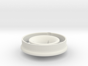 Bell-mouth for ET3 Polini air filter in White Strong & Flexible