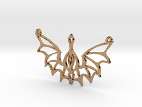 :Steampunk Flight: Pendant in Polished Brass