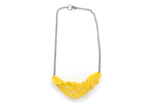 Arithmetic Necklace in Yellow Strong & Flexible Polished