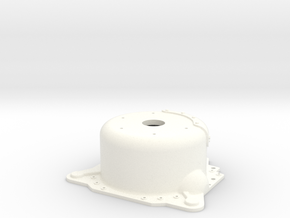 "1/12 Lenco 7.5"" Dp Bellhousing (With Starter Mnt) in White Strong & Flexible Polished"