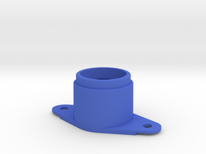 Early Pinball Button Housing #C904 in Blue Strong & Flexible Polished