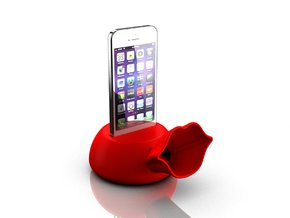 Speaker for iPhone 5s in Red Strong & Flexible Polished