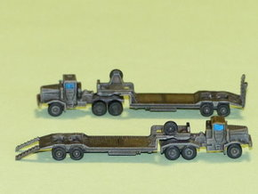 Faun 912 SA Tank Transporter 1/285 6mm in Frosted Ultra Detail