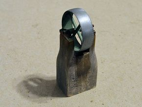 c.1:48 Flat Belt Pulley - 16ea in Frosted Ultra Detail