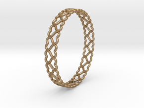 lovelink bracelet ($5) in Matte Gold Steel